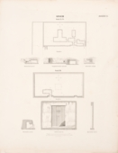 Maps and plans: Plans and sections of Lepsius 53, Lepsius 54, G 7070