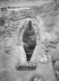 Eastern Cemetery: Site: Giza; View: avenue G 1, boat pit S of G I-a