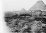 Eastern Cemetery: Site: Giza; View: G 7244+7246, G 7243, G 7248, G 7247, G 7143, G 7142, G 7150, G 7100 Pt i, G 7100 Pt ii