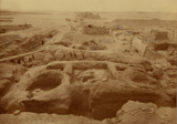 Eastern Cemetery: Site: Giza; View: G 7750, street G 7600, G 7650, G 7530-7540, G 7550