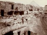Eastern Cemetery: Site: Giza; View: Lepsius 68, Lepsius 69, Lepsius 70