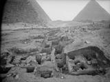 Western Cemetery: Site: Giza; View: G 2391, G 2451, G 2450, G 2389, G 2452, G 2388