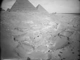Menkaure Quarry Cemetery: Site: Giza; View: MQ 105, MQ 120, MQ 130, MQ 132, MQ 133, MQ 134, MQ 135, MQ 106, MQ 123