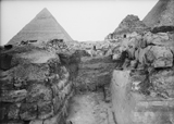 Eastern Cemetery: Site: Giza; View: avenue G 4, G 7430-7440, G 7450