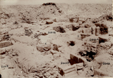 Western Cemetery: Site: Giza; View: G 2422, G 2418, G 2424+2425