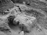 Wadi Cemetery (Reisner; north of W. Cem): Site: Giza; View: GW 16, GW 19, GW 32