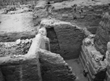 Western Cemetery: Site: Giza; View: G 1412, G 1404, G 1406, G 1407