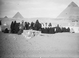 People & places: Site: Giza; View: Giza
