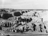 Western Cemetery: Site: Giza; View: G 4816, G 4817, G 4810, G 4811+4812, G 4813