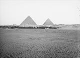 General view: Site: Giza; View: Pyramids