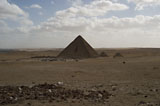 Menkaure Pyramid Complex: Site: Giza; View: Menkaure pyramid, Harvard Camp