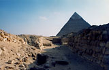 Western Cemetery: Site: Giza; View: G 2160, G 2168, G 2166, G 2167, G 2165