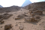 Western Cemetery: Site: Giza; View: G 2150, G 2151, G 2153, G 2152, G 2136', G 2154, G 2157, G 2170