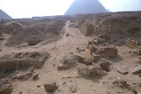 Western Cemetery: Site: Giza; View: G 2150, G 2151, G 2154, G 2154a, G 2153, G 2152, G 2136', G 2157, G 2170