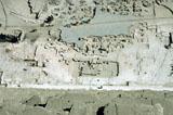 Khufu Pyramid Complex: Site: Giza; View: Khufu pyramid temple