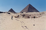 Menkaure Quarry Cemetery: Site: Giza; View: MQ 123, MQ 135, MQ 134, MQ 120, MQ 124, MQ 121