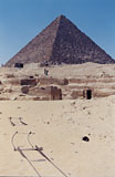 Menkaure Quarry Cemetery: Site: Giza; View: MQ 105, MQ 120, MQ 121, MQ 134, MQ 135