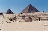 Menkaure Quarry Cemetery: Site: Giza; View: MQ 105, MQ 120, MQ 121, MQ 123, MQ 134, MQ 135
