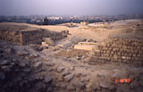 Western Cemetery: Site: Giza; View: G 2150, G 2151, G 2134, G 2138, G 2156', G 2220