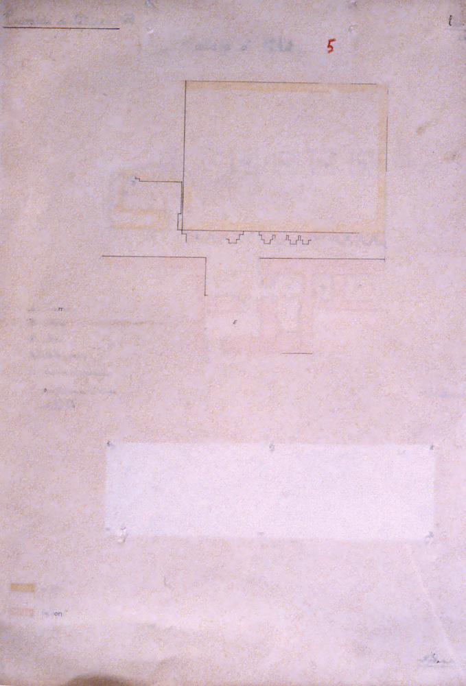 Plans and drawings: Site: Giza; View: G 7391