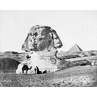 Sphinx/Sphinx temple: Site: Giza; View: Sphinx