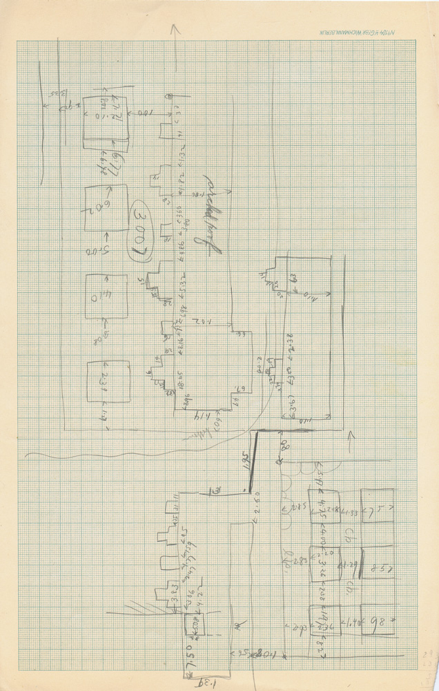 Maps and plans: Sketch plan of G 3007