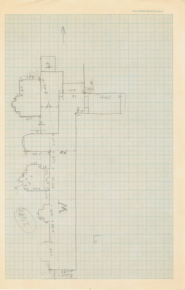 Maps and plans: Sketch plan of G 3098
