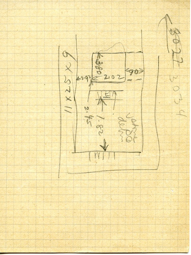 Maps and plans: G 3034, Sketch plan