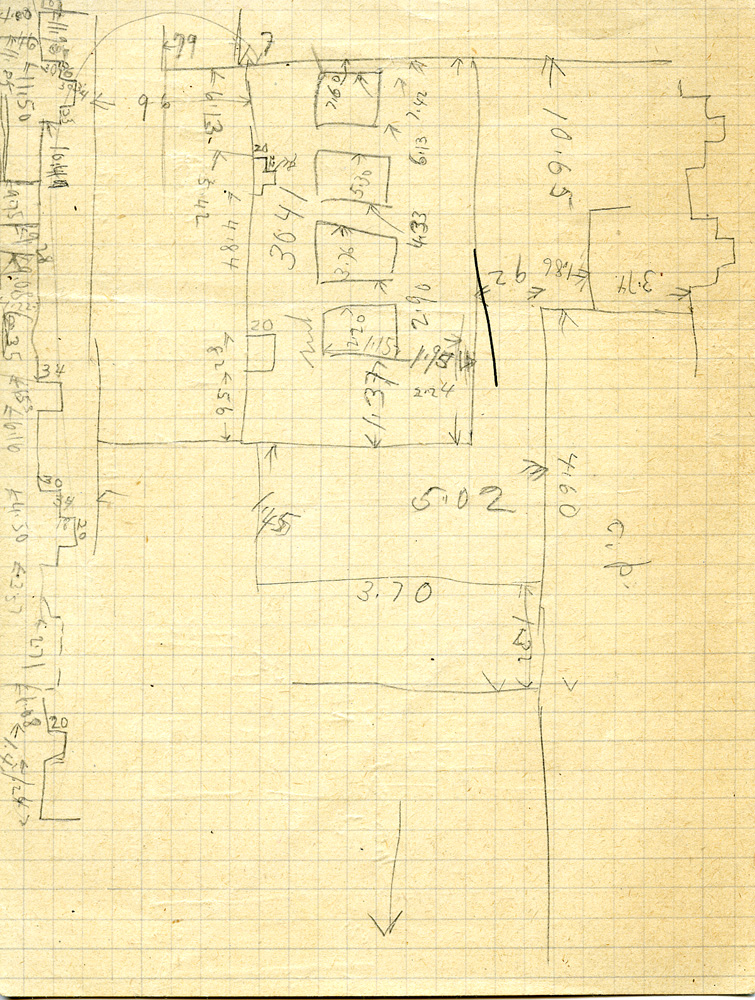 Maps and plans: G 3041, Sketch plan