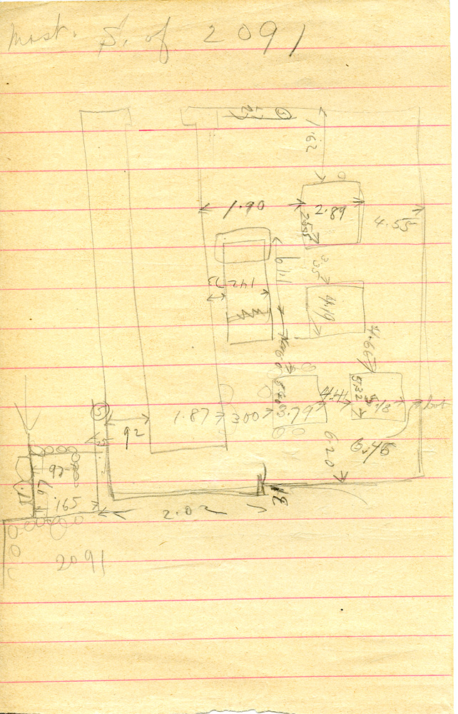 Maps and plans: G 1221, Sketch plan