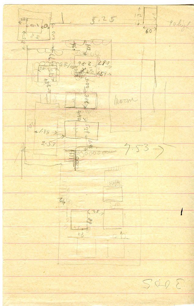 Maps and plans: Sketch plan of G 3005, G 3008