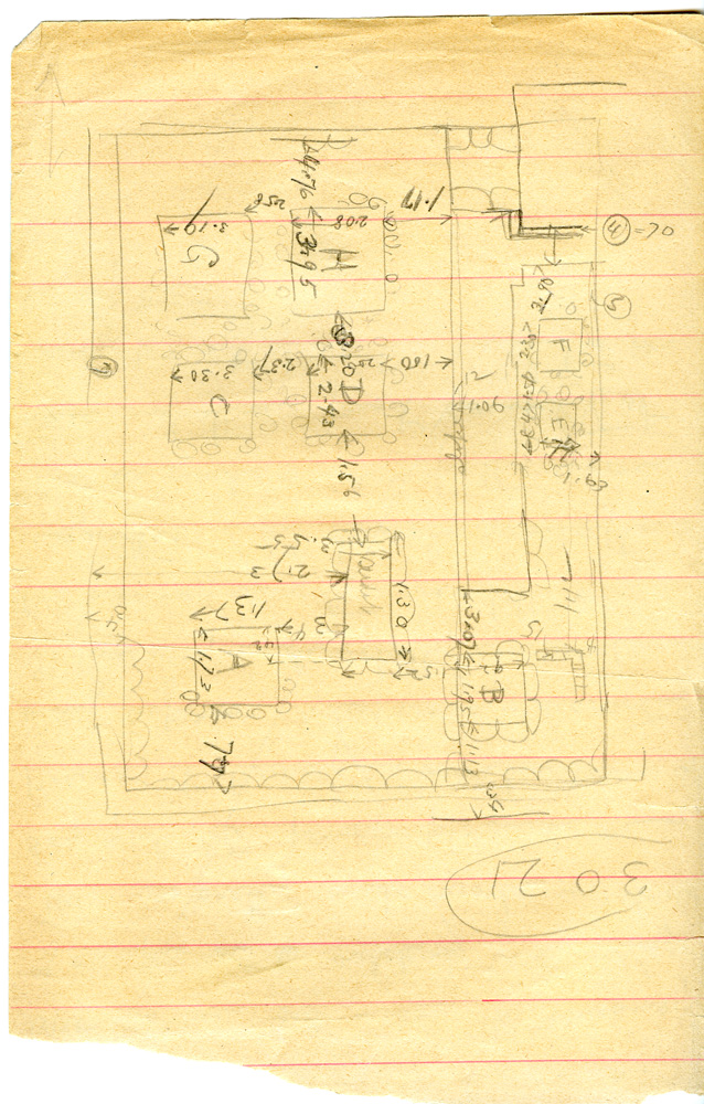 Maps and plans: G 3011, Sketch plan