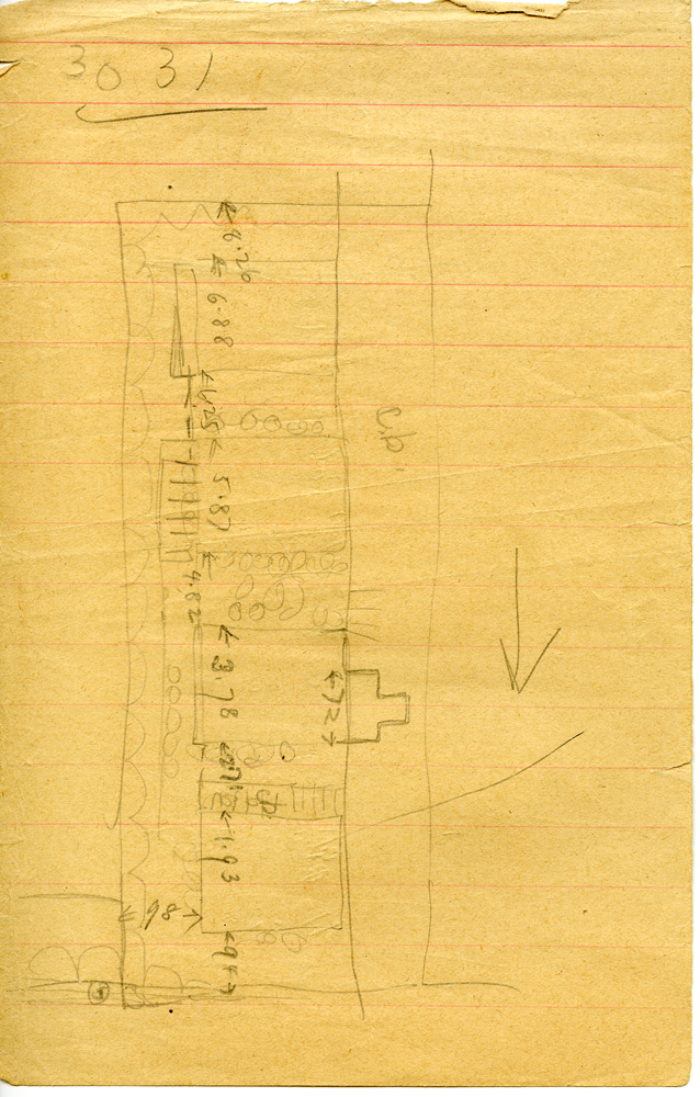Maps and plans: G 3031, Sketch plan