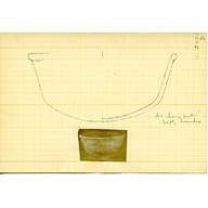 Drawings: G 3005: pottery bowl