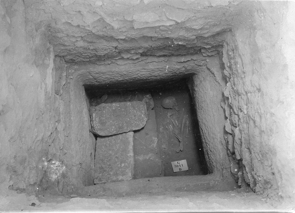 Western Cemetery: Site: Giza; view: G 3041
