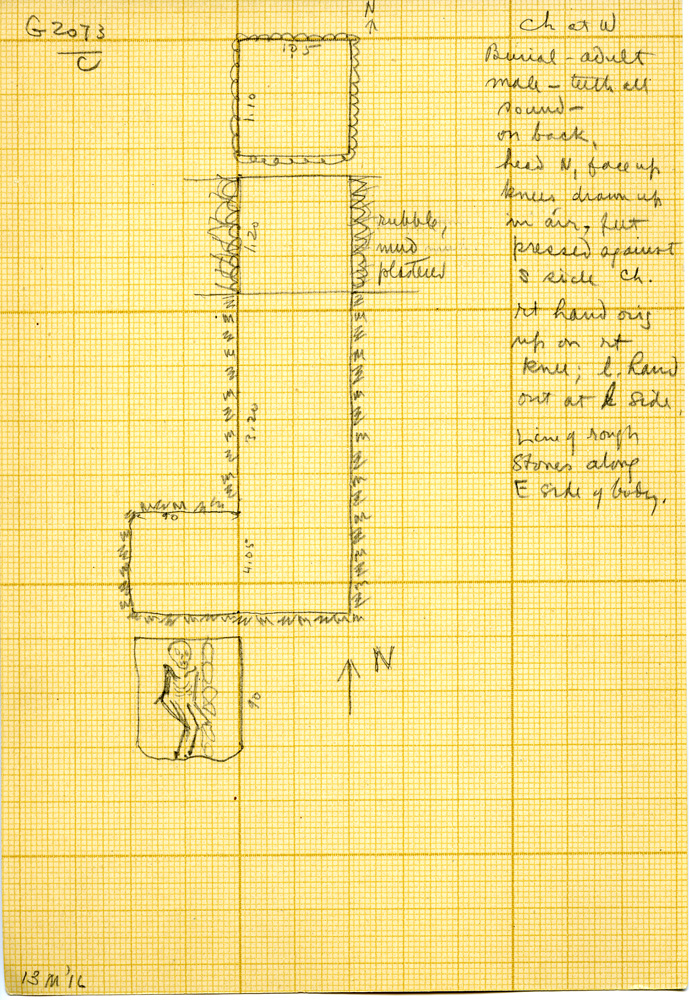 Maps and plans: G 3073, Shaft C