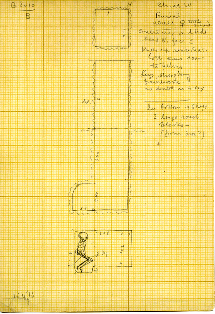 Maps and plans: G 3010, Shaft B