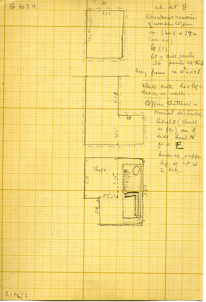 Maps and plans: G 3034, Shaft A