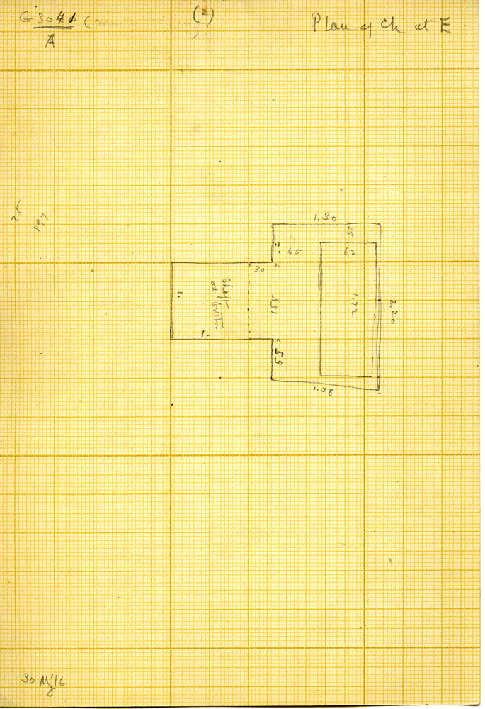 Maps and plans: G 3041, Shaft A