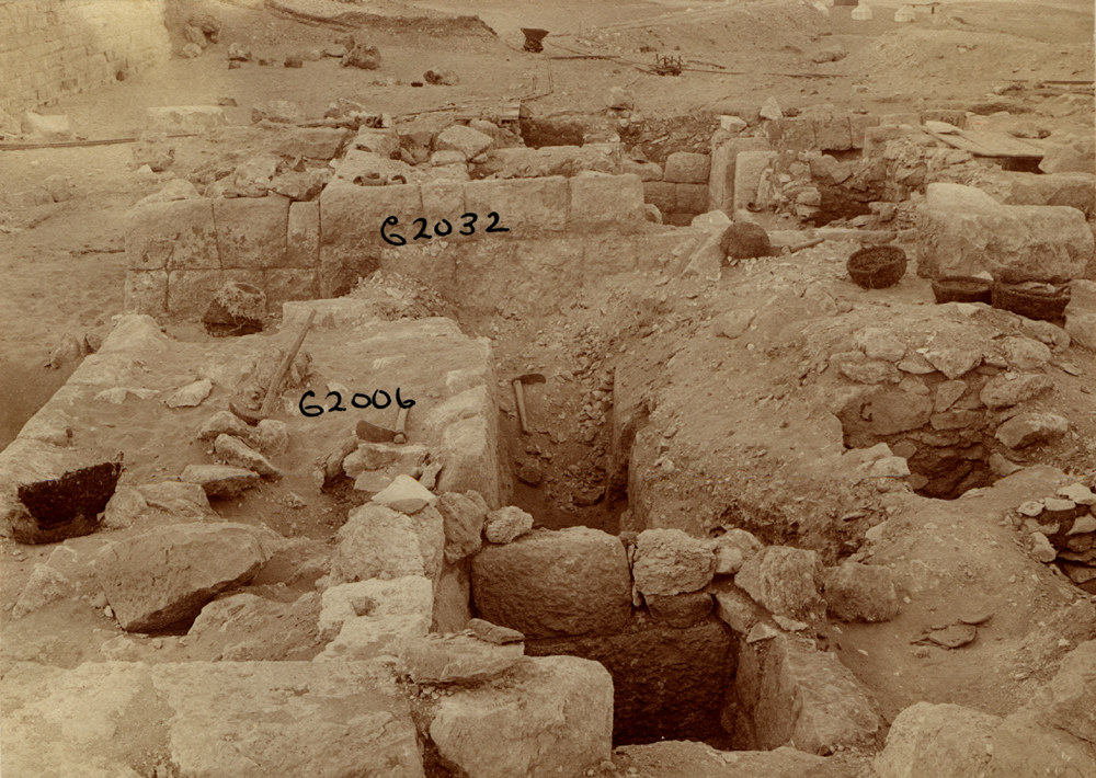 Western Cemetery: Site: Giza; View: G 2006, G 2007, G 2032